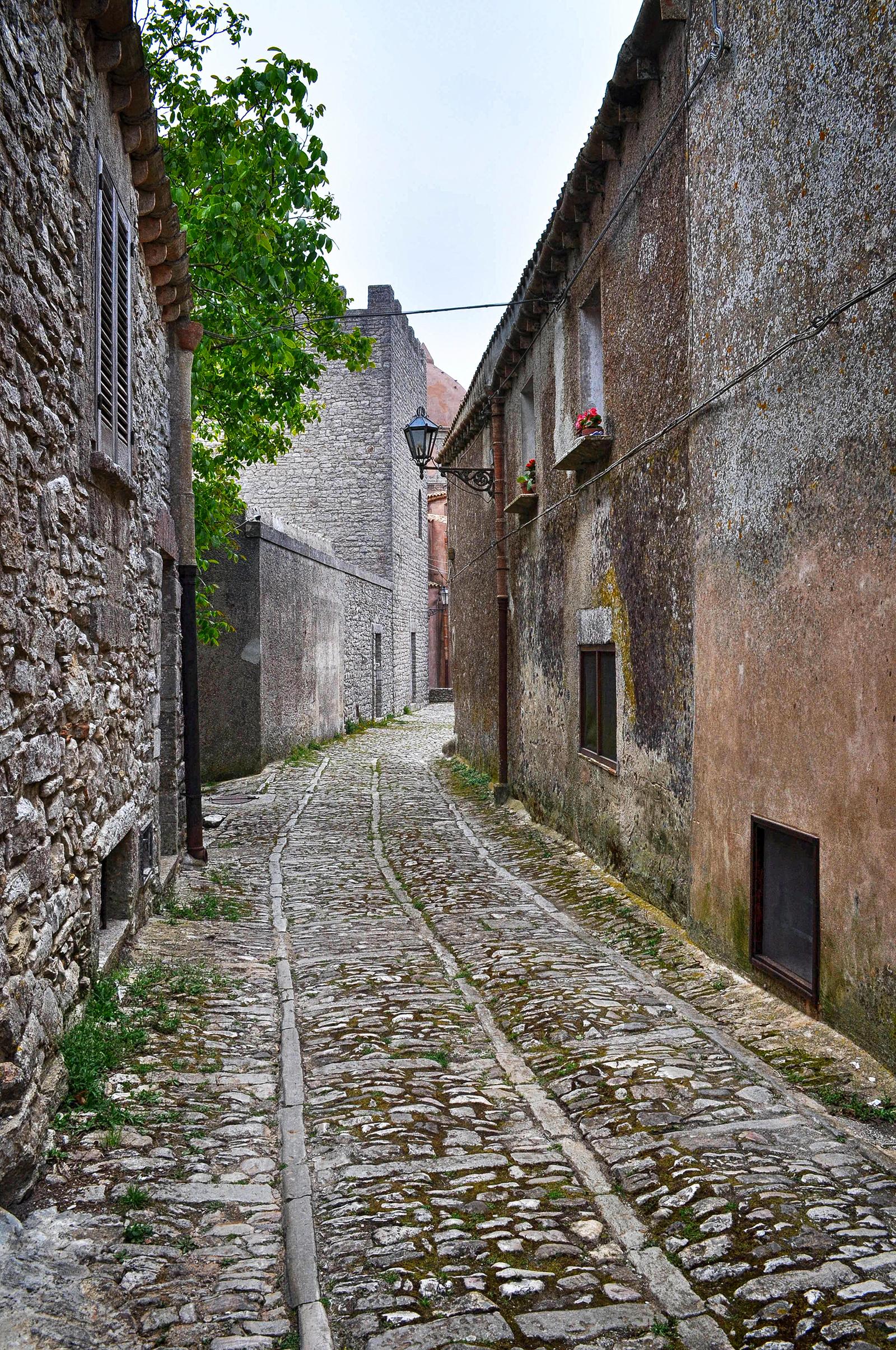Erice najpiękniejsze miasteczko na Sycylii