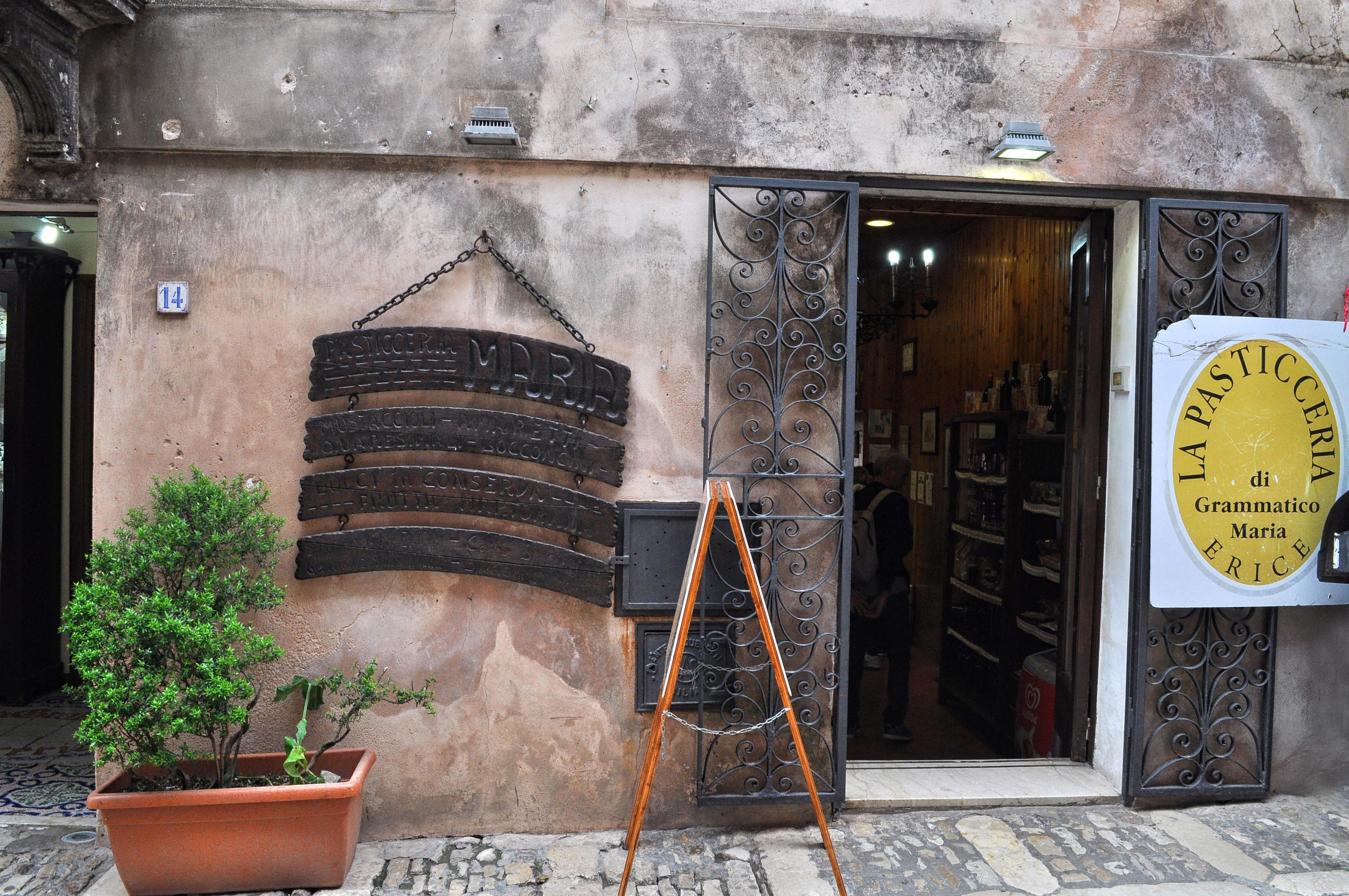 Erice restauracja