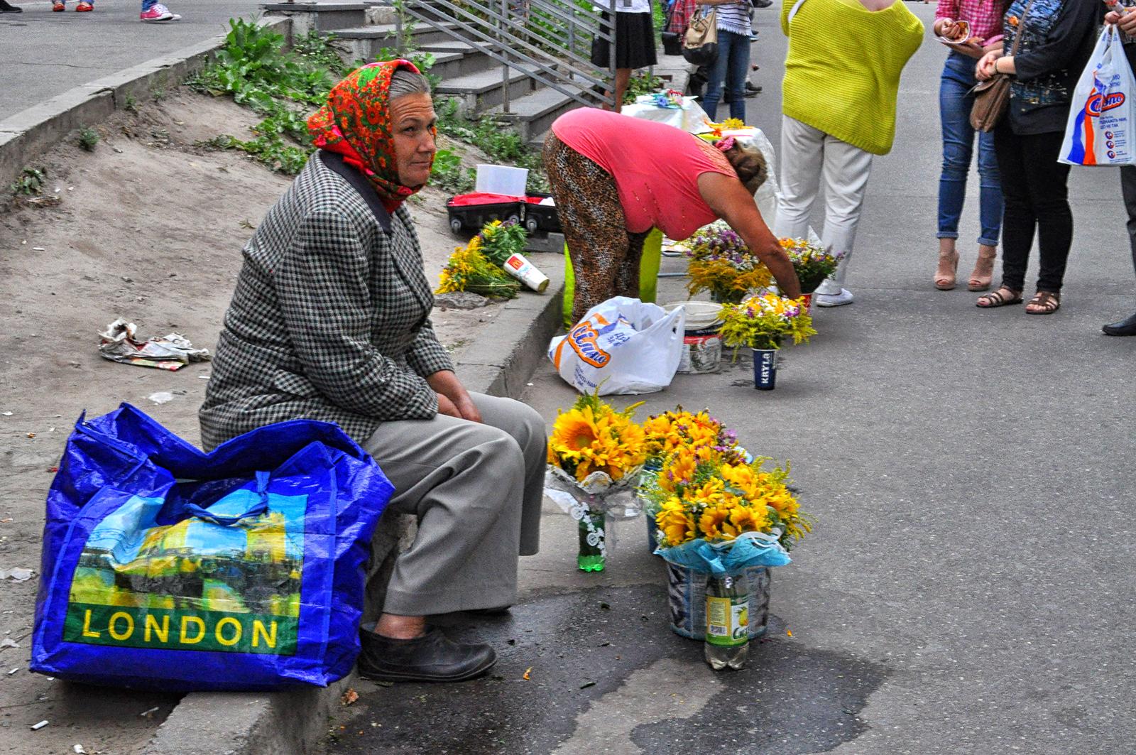 kijów bazary