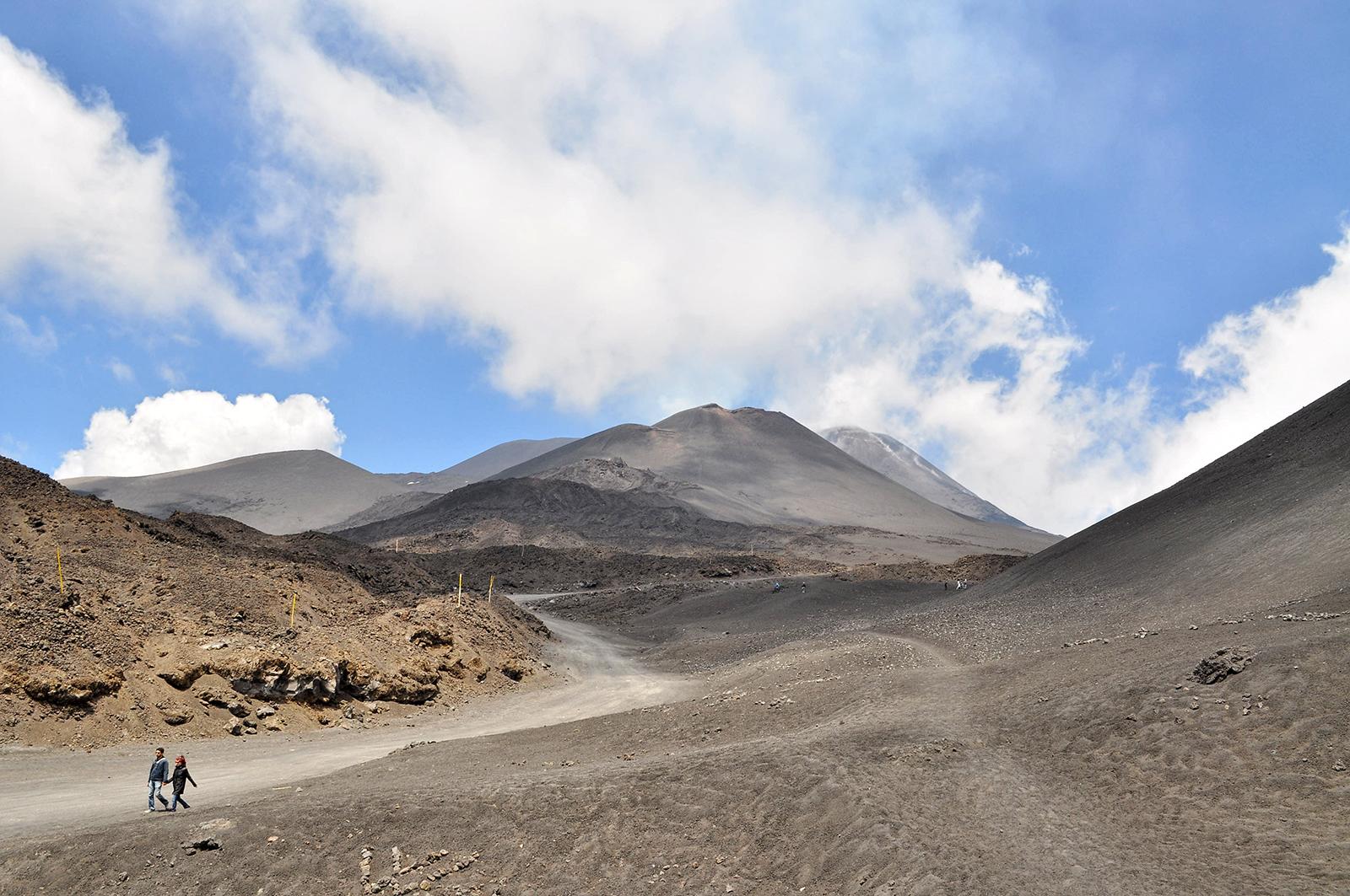 Sycylia Etna trekking