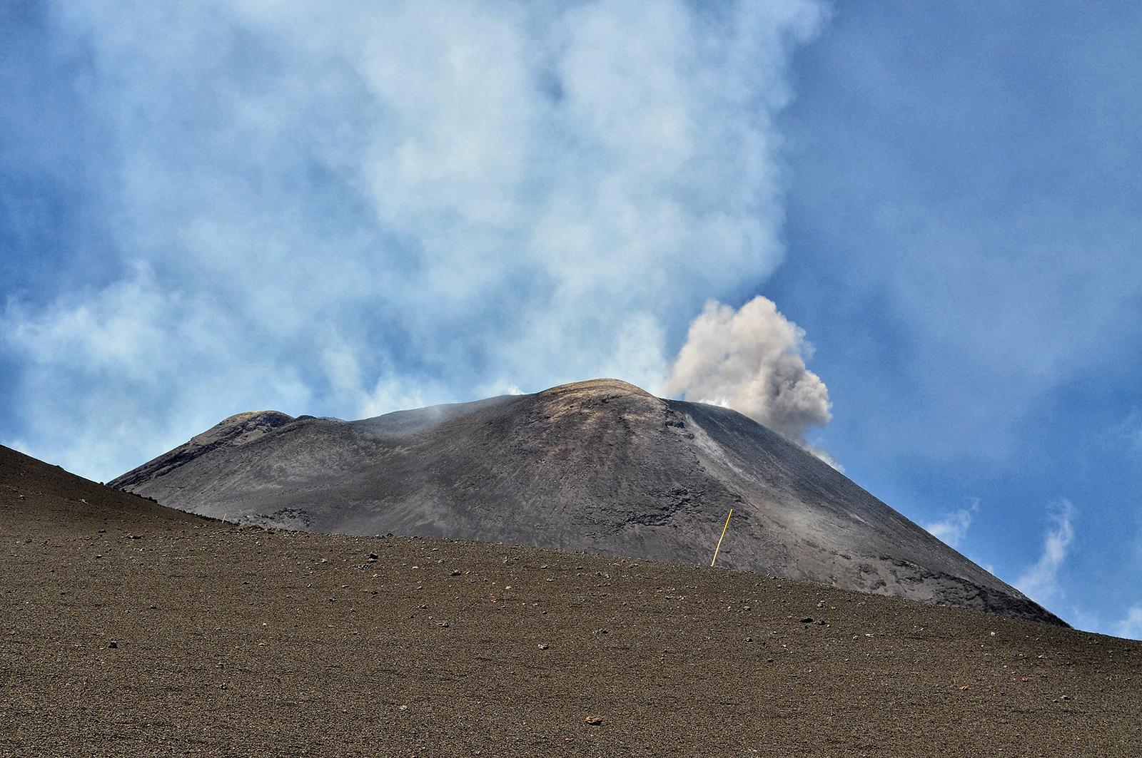 Etna wybuch
