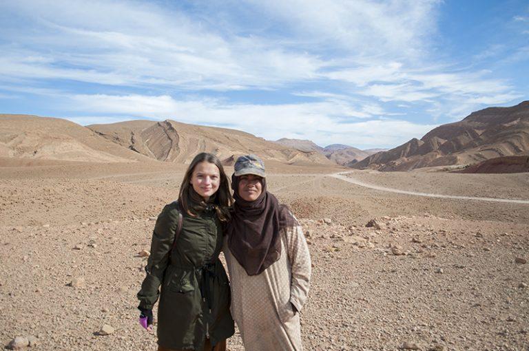dolina nomadów maroko