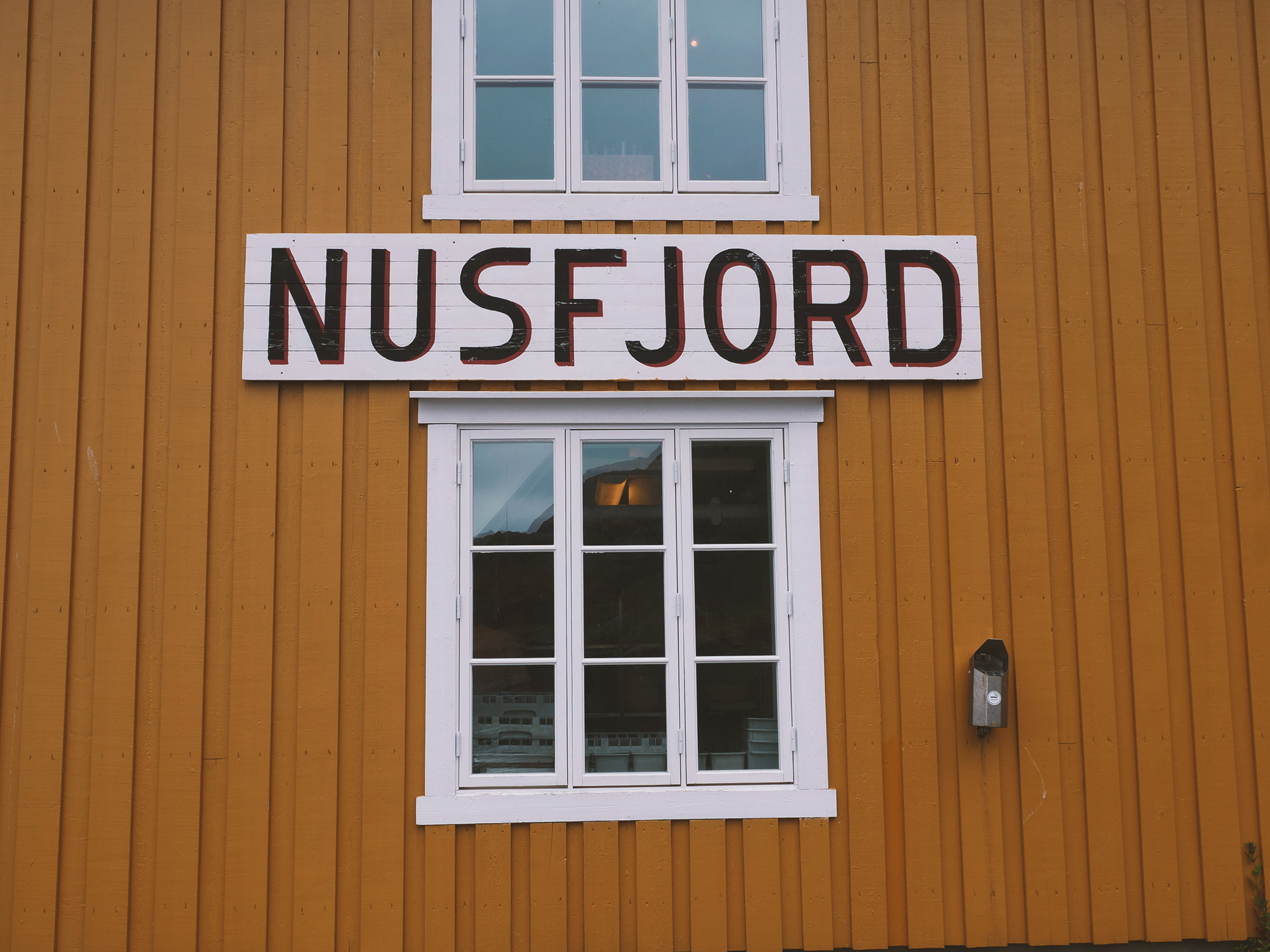 nusfjord na lofotach