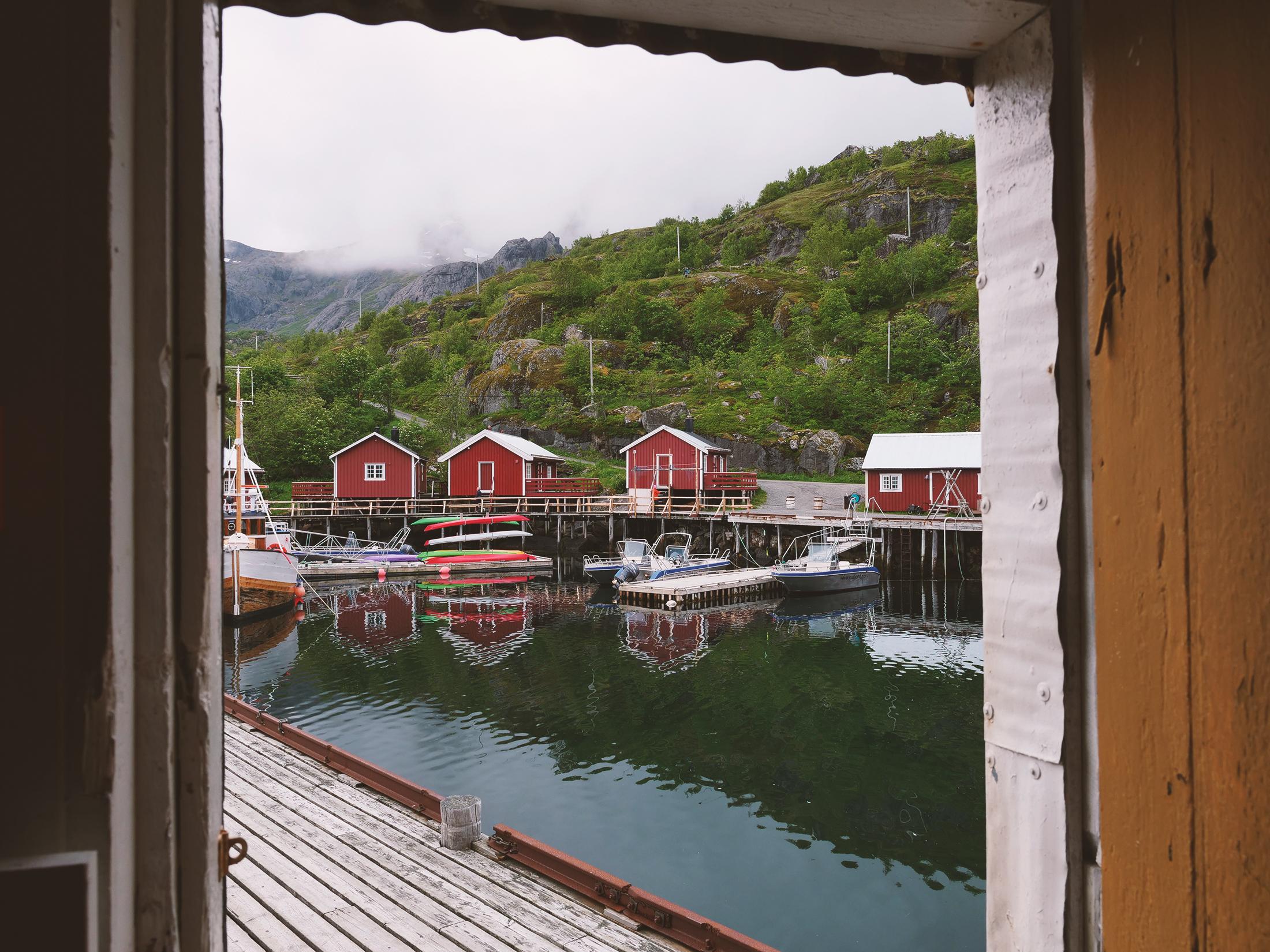 nusfjord norwegia