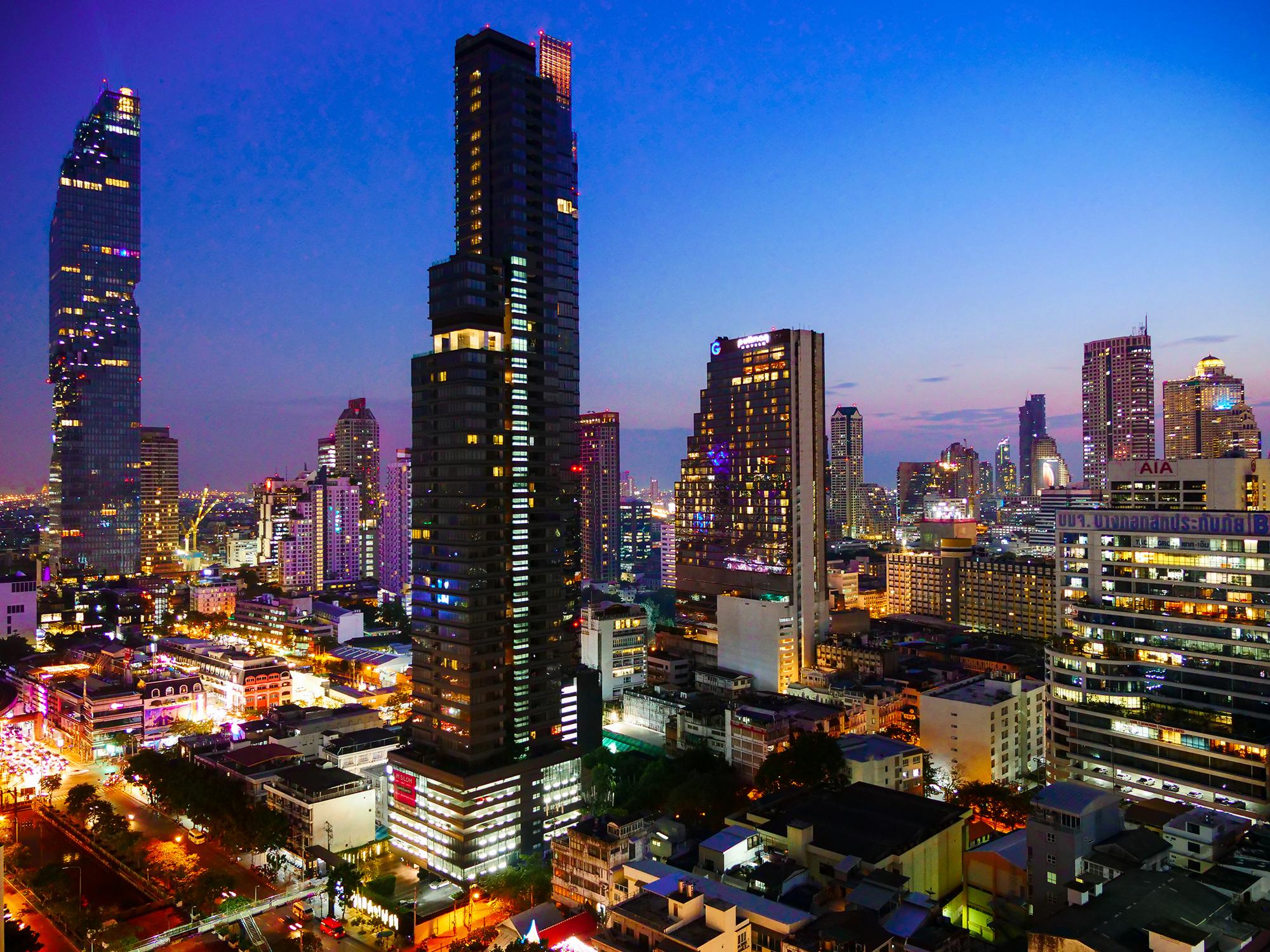 bangkok basen na dachu