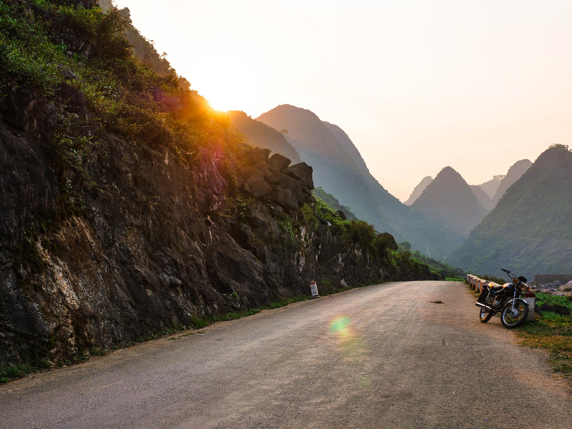 pÄ™tla motocyklowa ha giang
