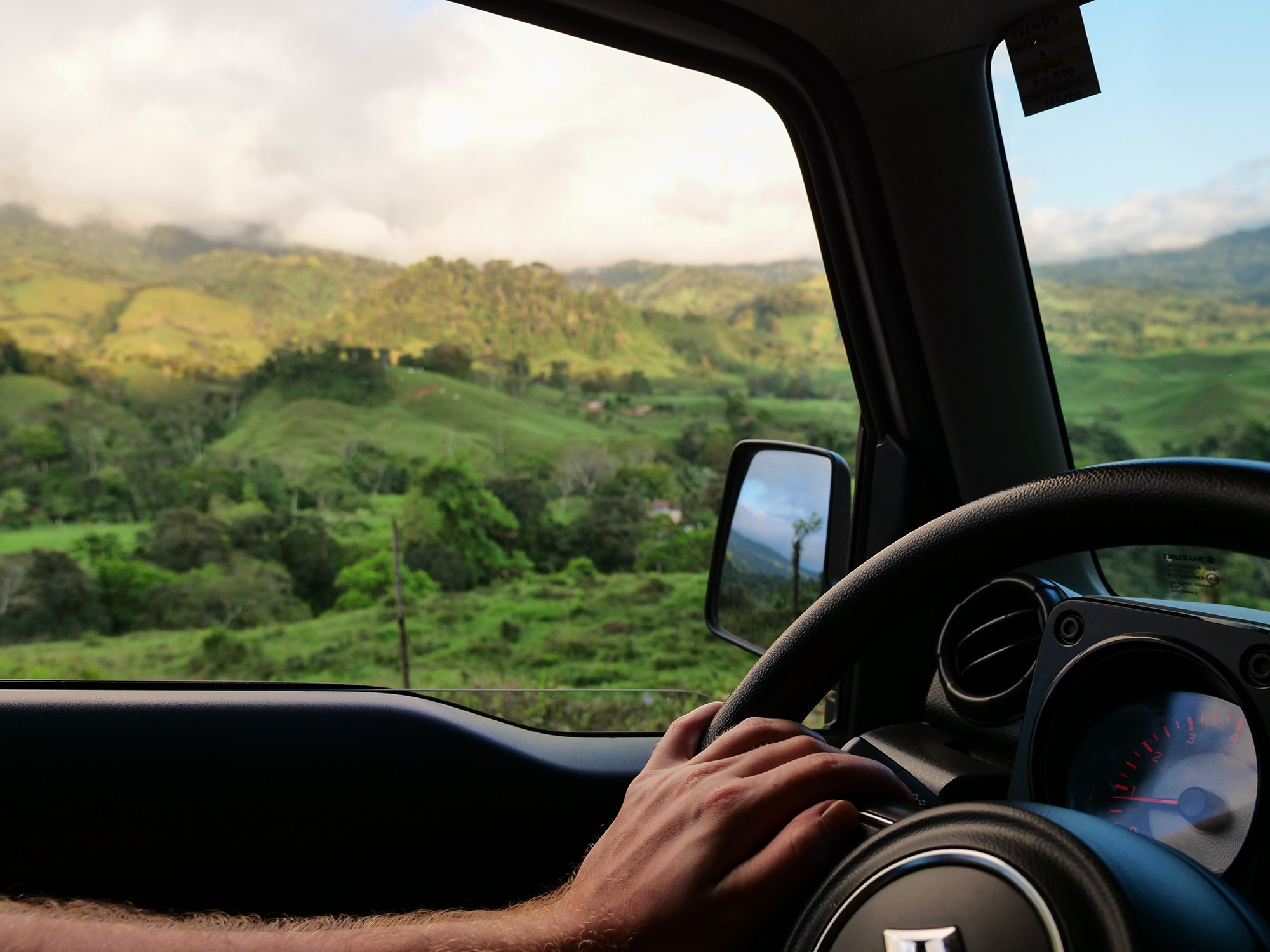 kostaryka trasa podróży