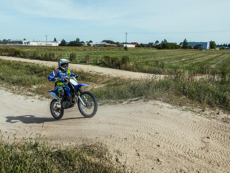 warszawa motocykl