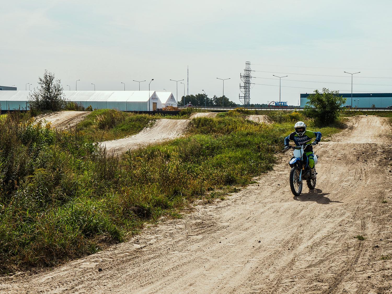 warszawa gdzie na motocykl