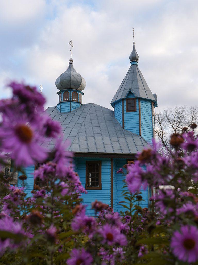 błękitne cerkwie podlasie