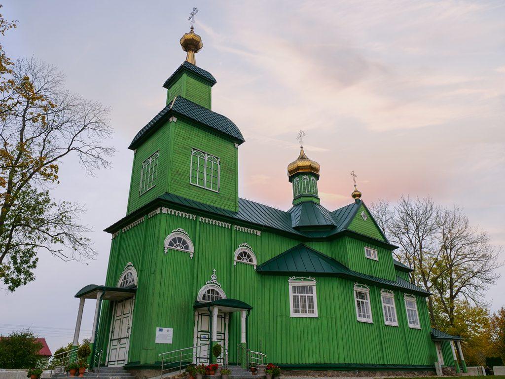 podlasie zielona cerkiew