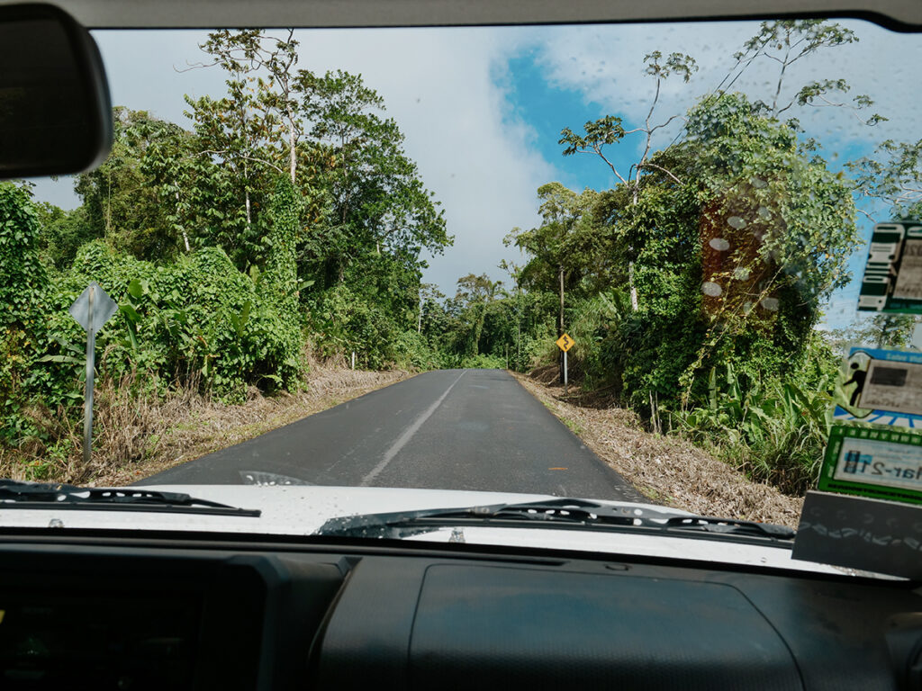 drogi w kostaryce 4x4