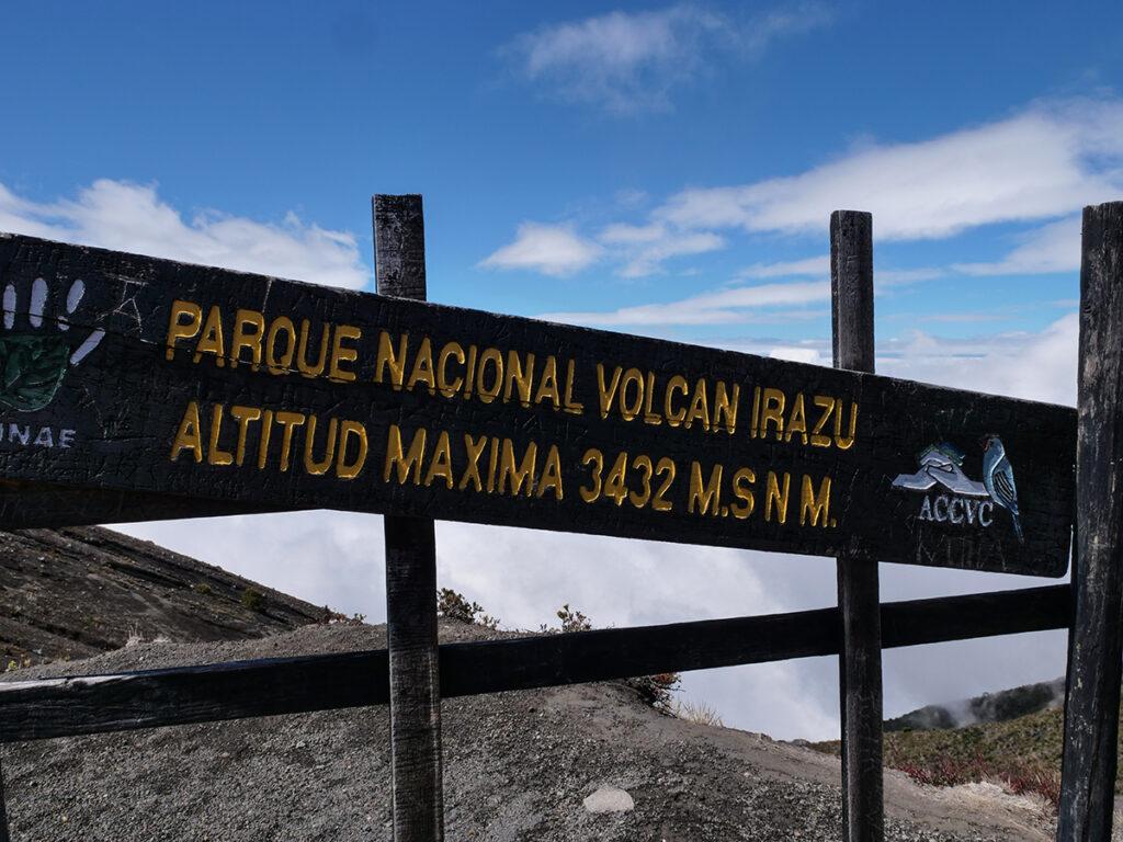 kostaryka wulkan irazu