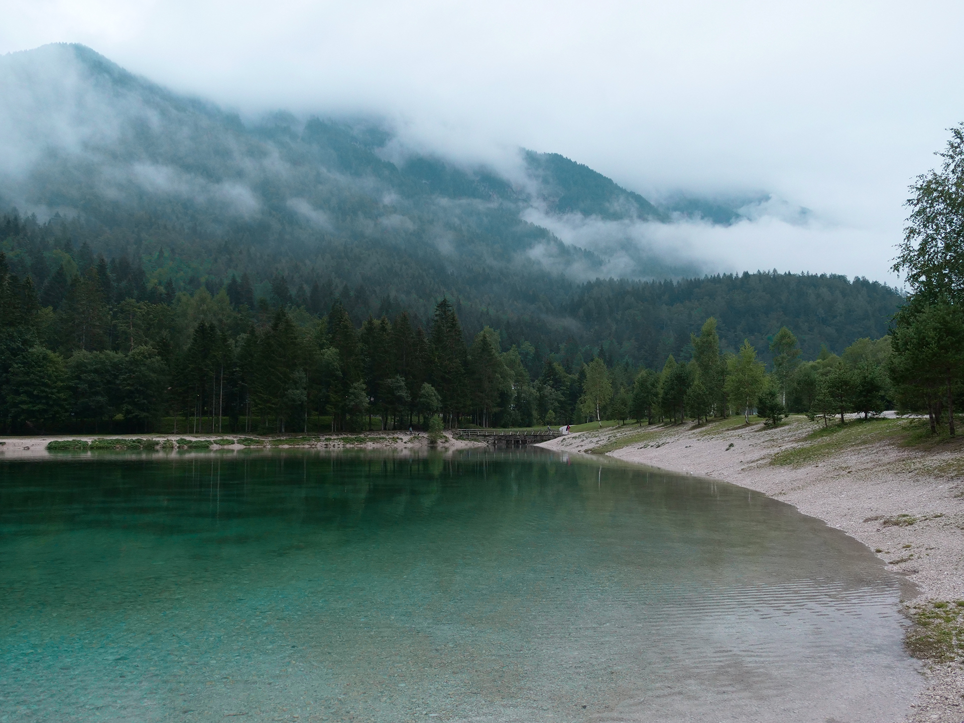 jezioro jasna słowenia