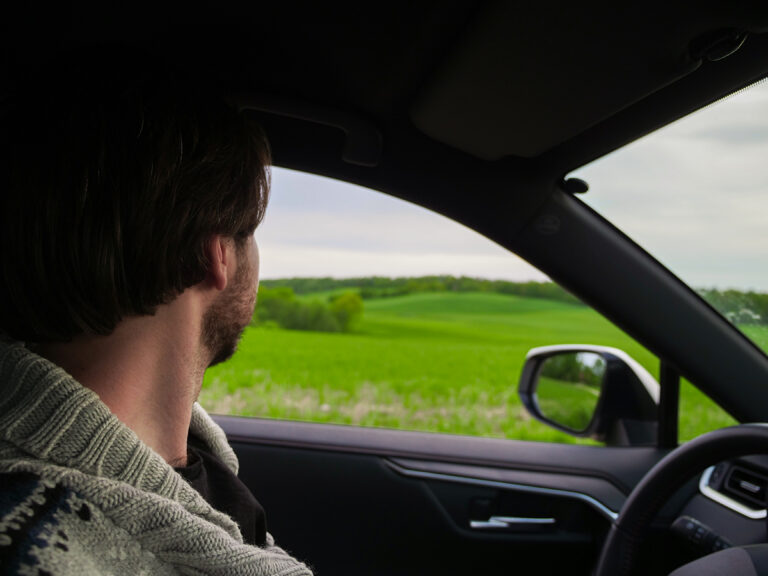 samochodem wzgorza dylewskie