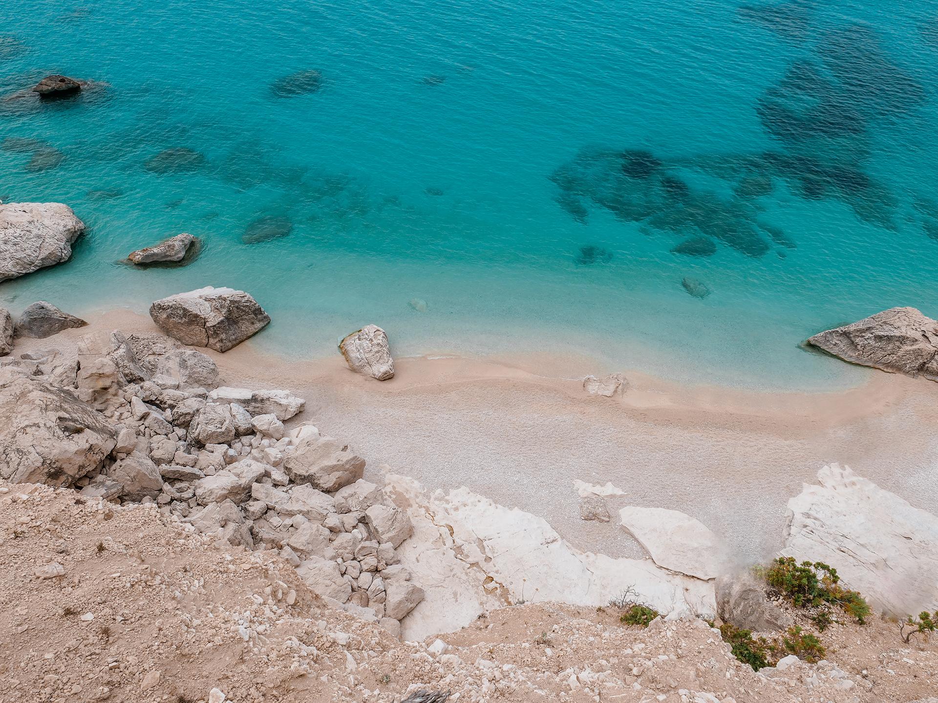 plaża Cala Goloritze Sardynia