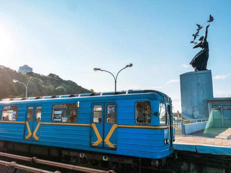 metro w kijowie