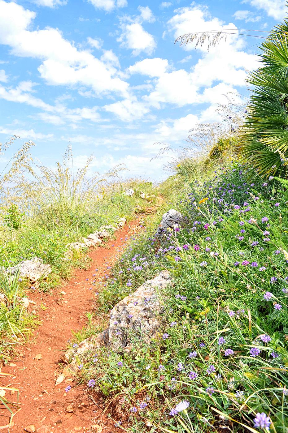 sycylia piesze szlaki