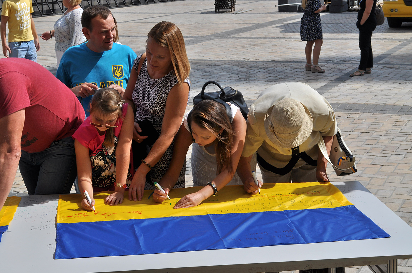 flaga ukraina