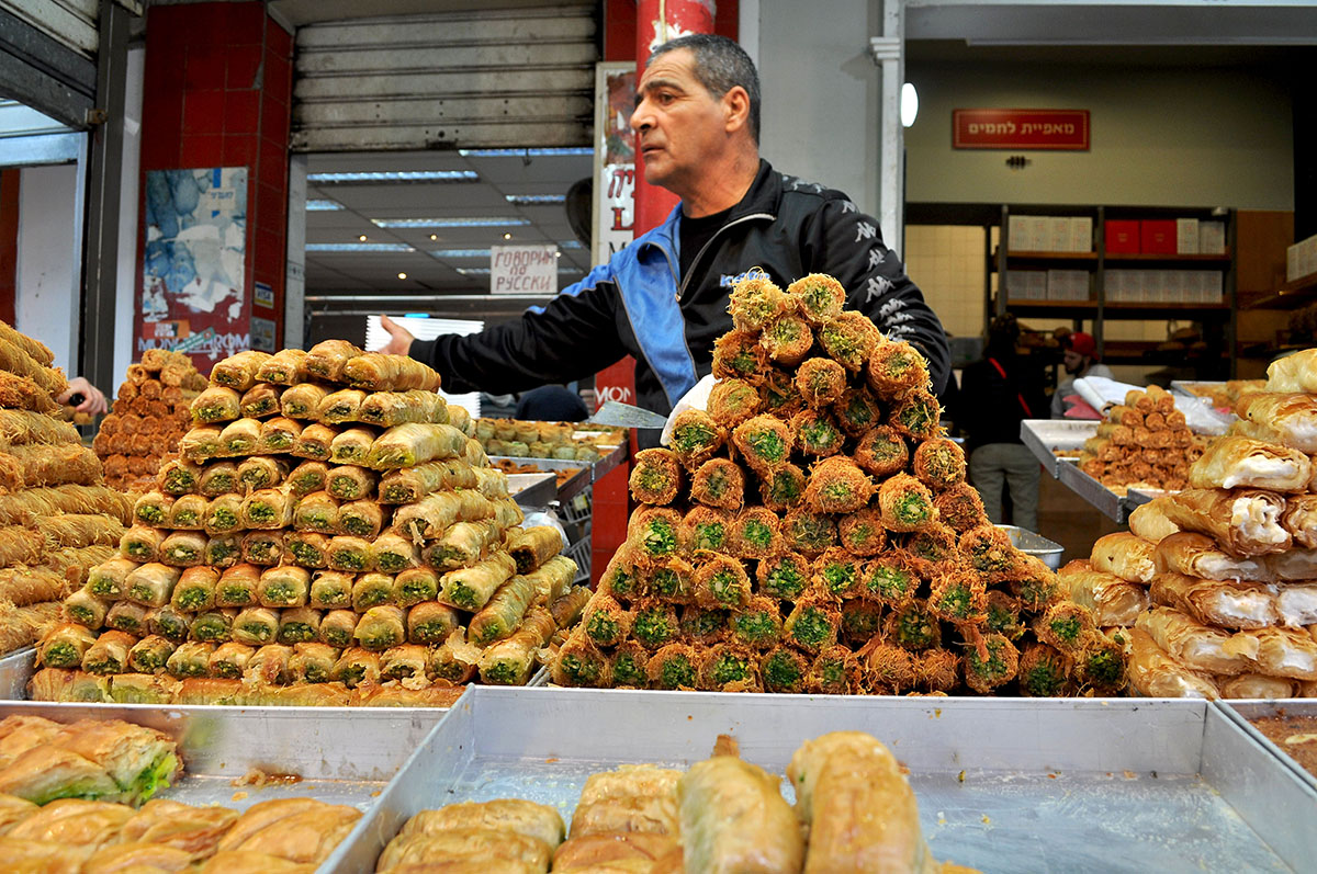 Izrael jedzenie