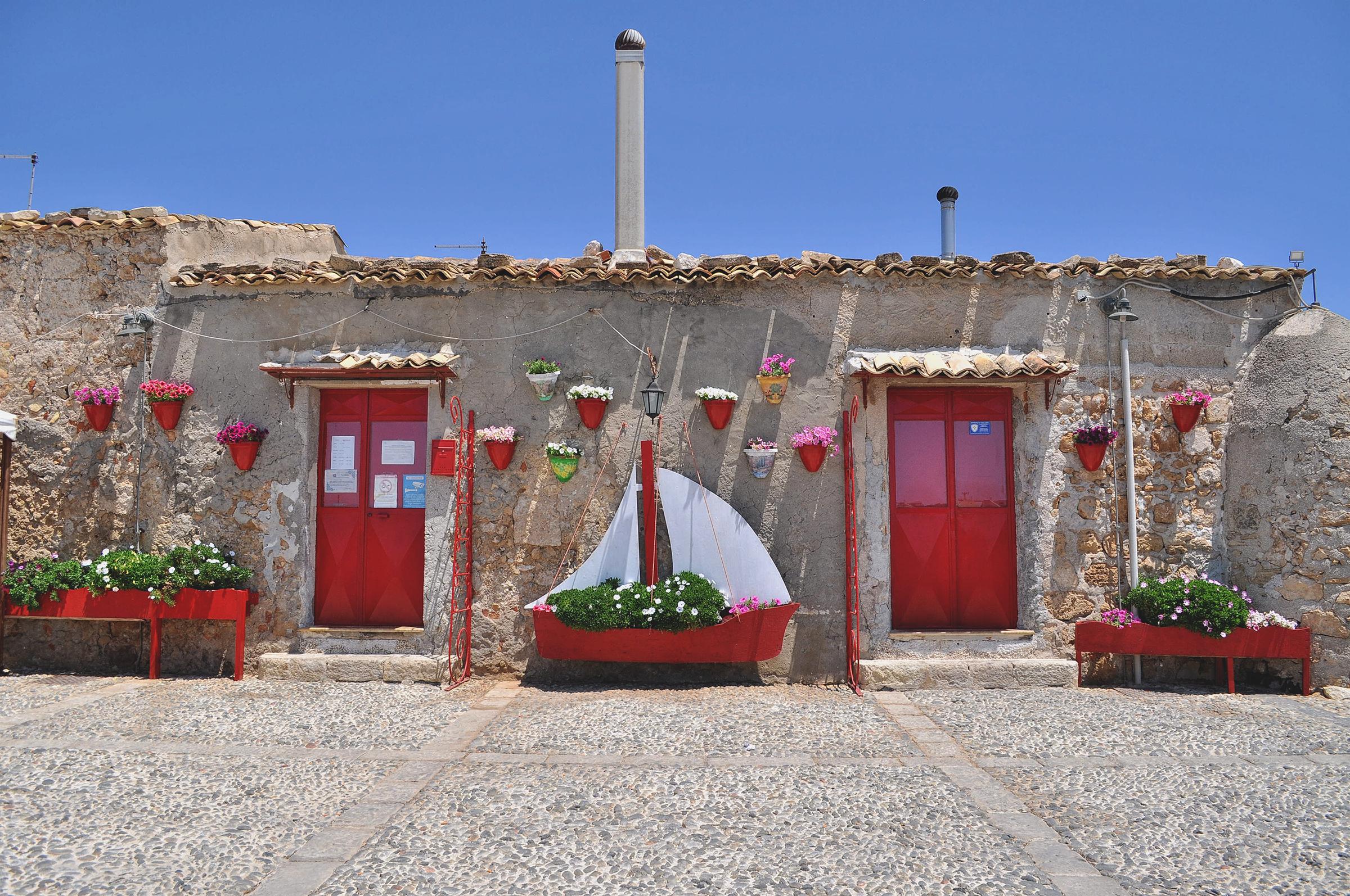 wioska na Sycylii