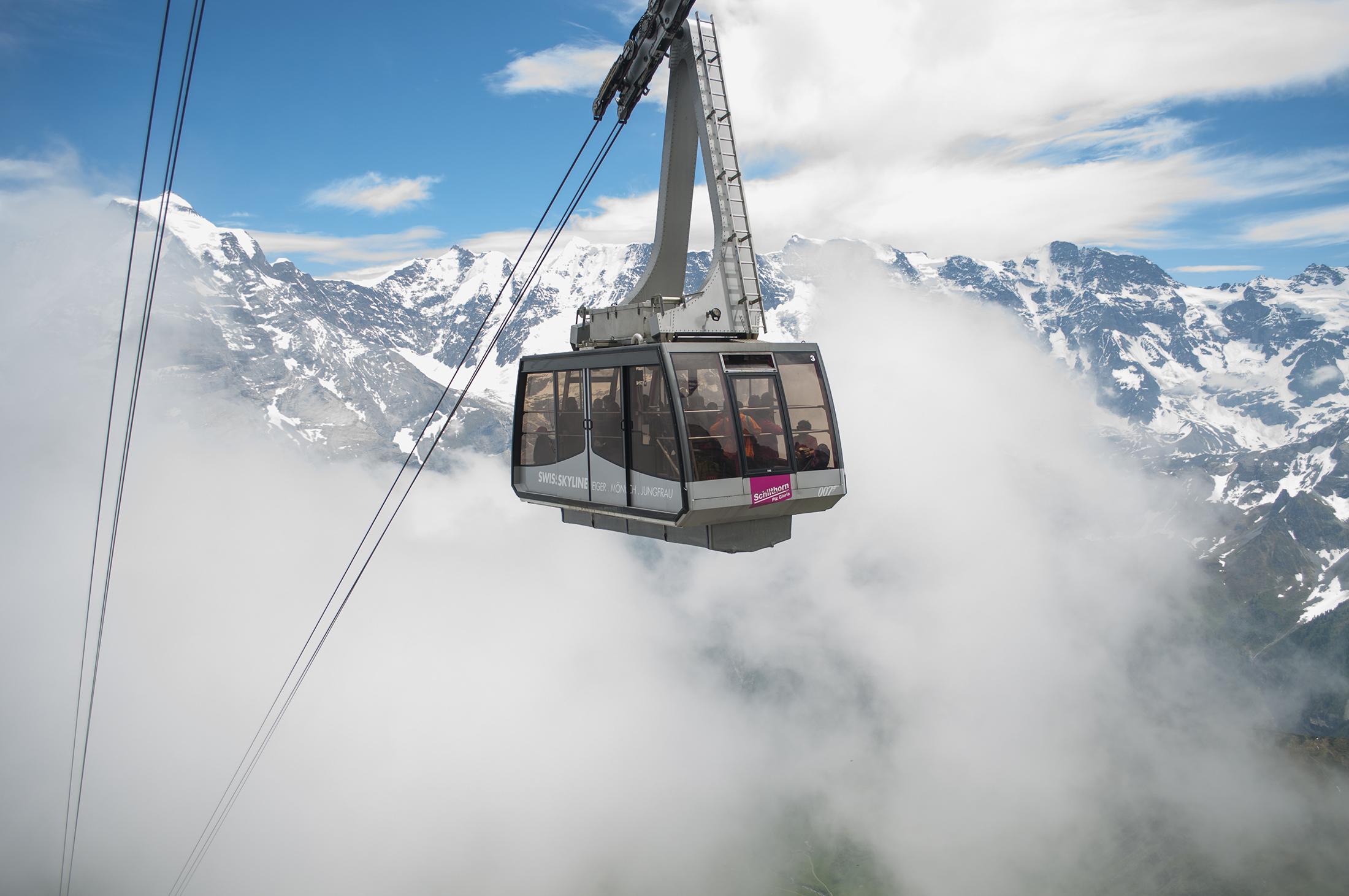 kolejki linowe szwajcaria