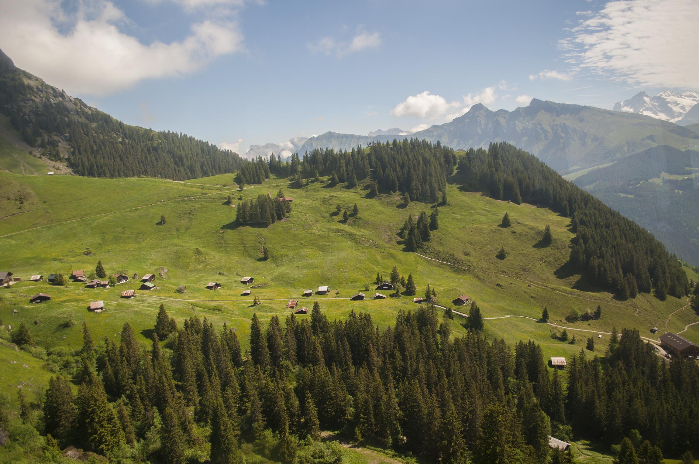 szwajcaria jakie góry