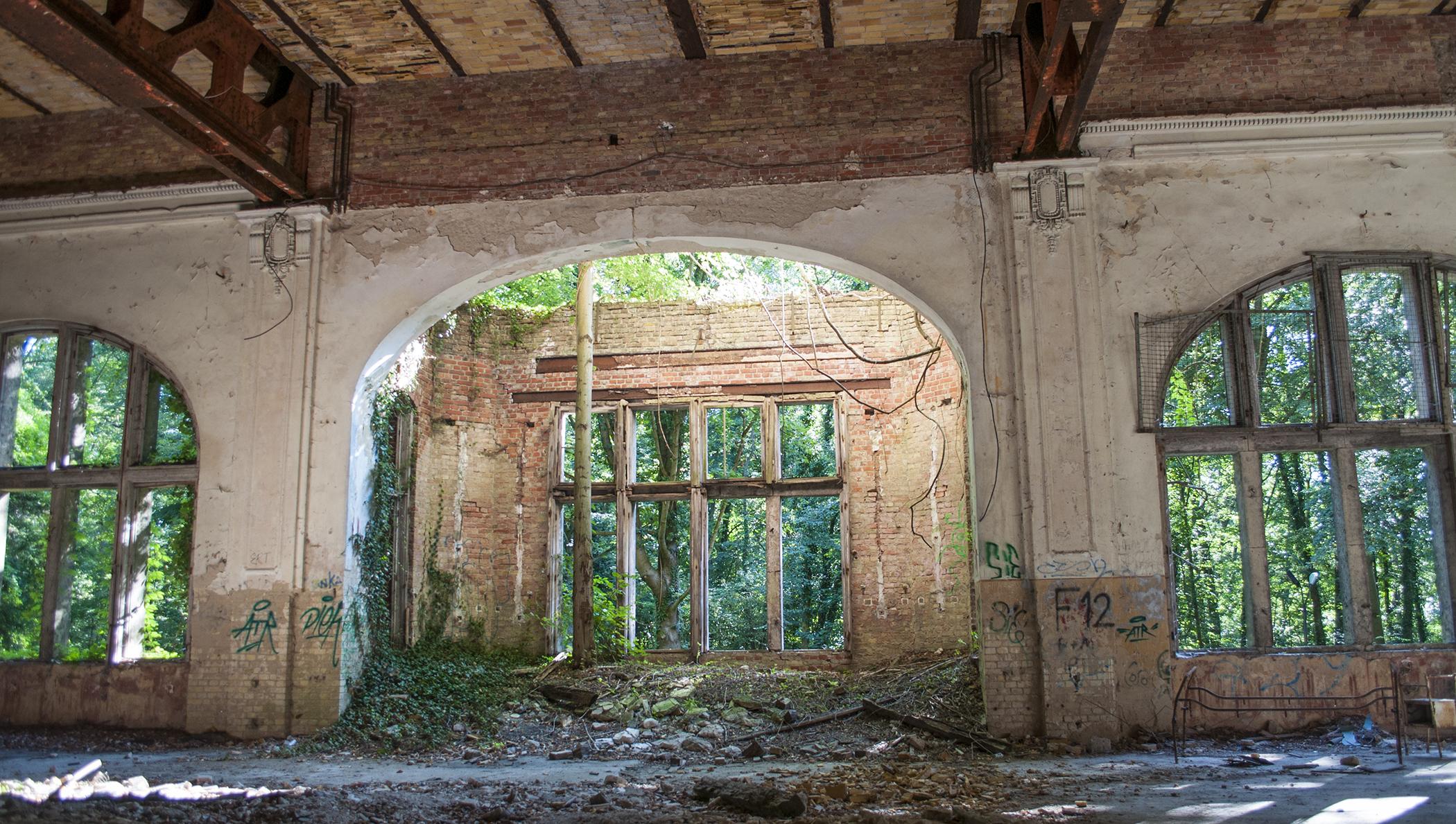opuszczone sanatorium beelitz