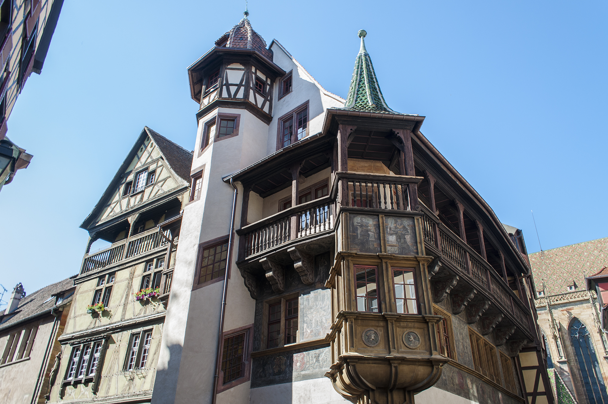 domy z muru pruskiego