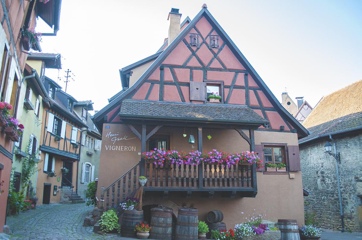 eguisheim w alzacji