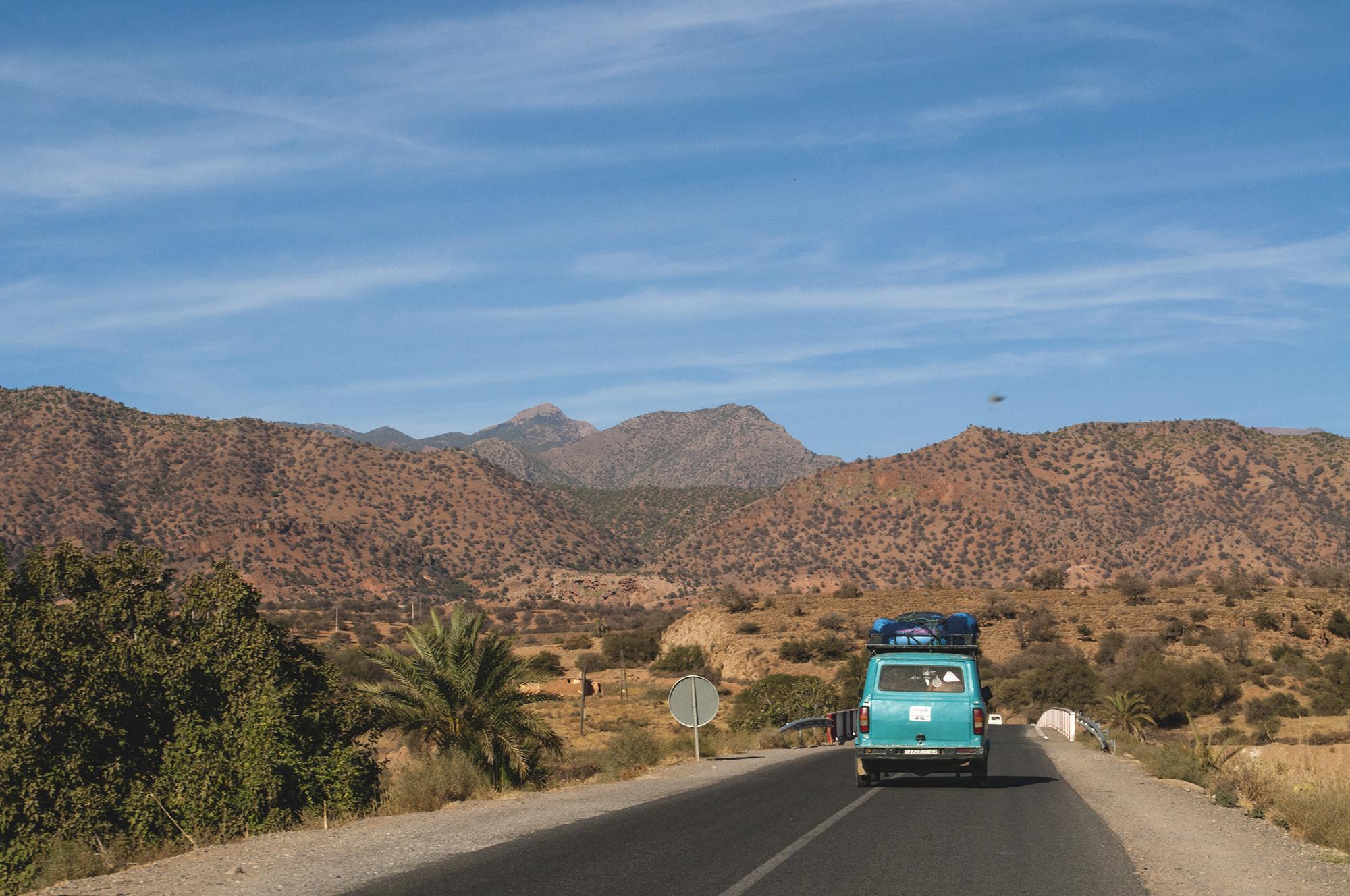 maroko drogi