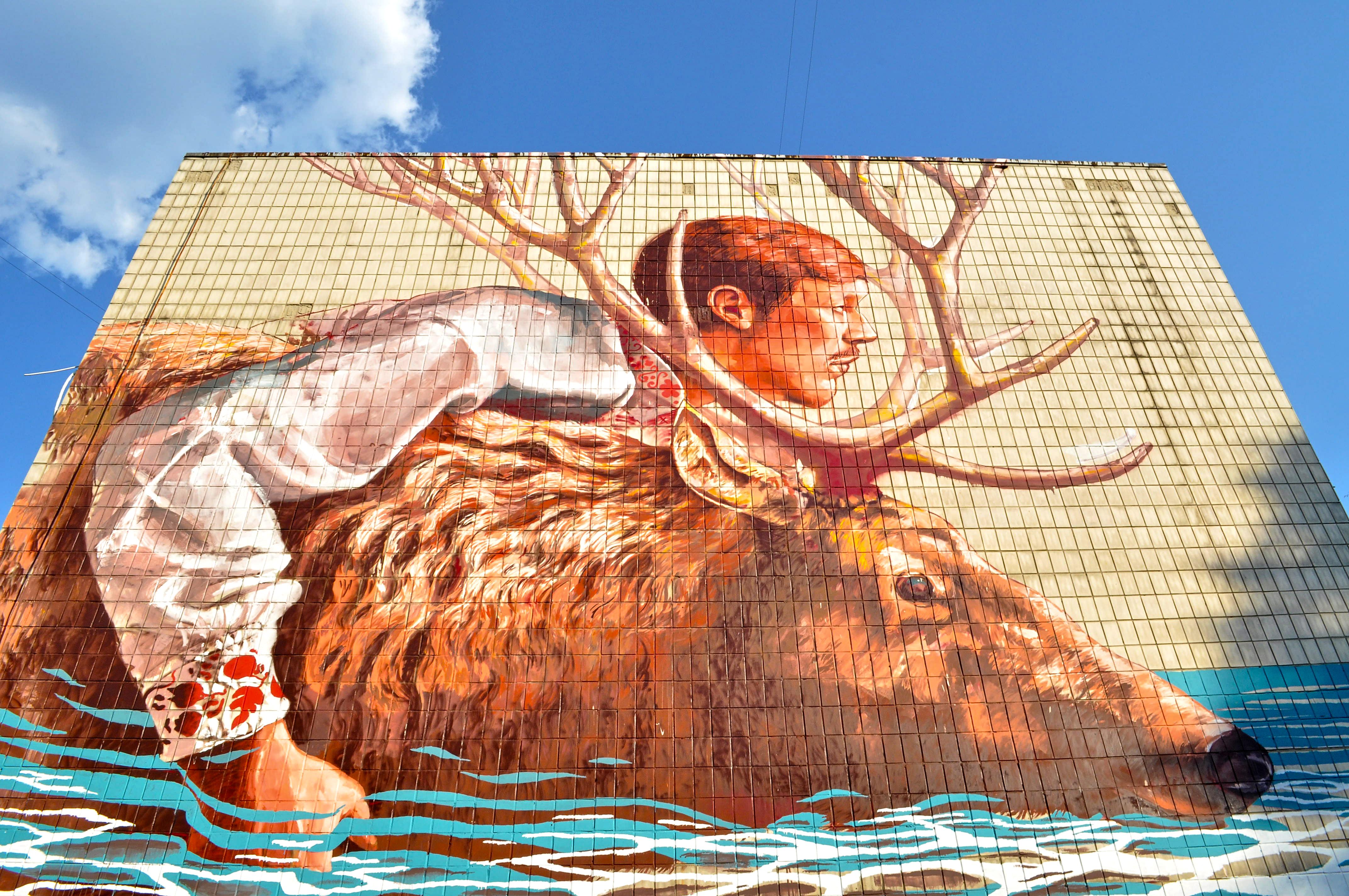 Kijów murale