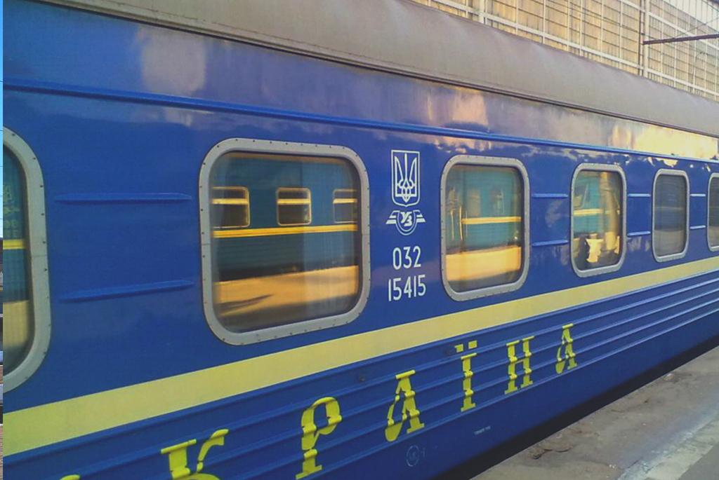 pociąg do kijowa